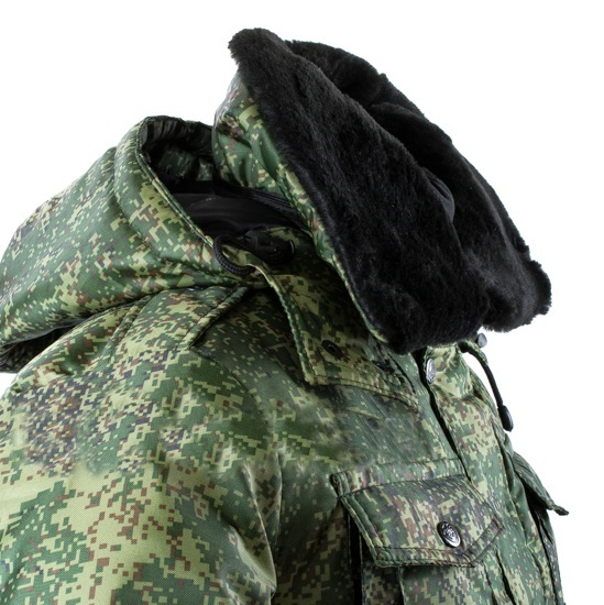 Куртка детская камуфлированная, цифра (кадет)_1