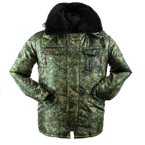 Куртка детская камуфлированная, цифра (кадет)